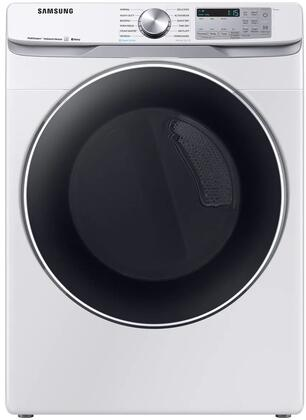 Samsung  DVE45R6300W Electric Dryer White, Main Image