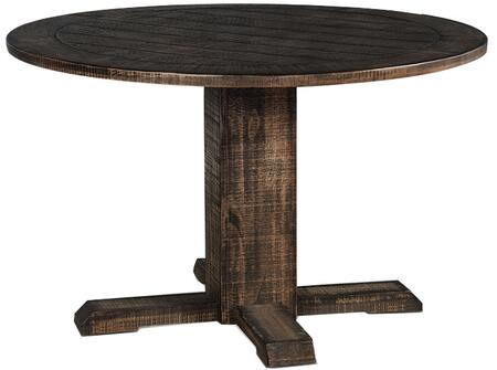1043TL2 Homestead Round Dining Table  in Tobacco