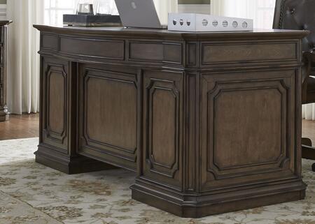 Liberty Furniture Amelia 487HOJJED Office Desk Brown, Main Image