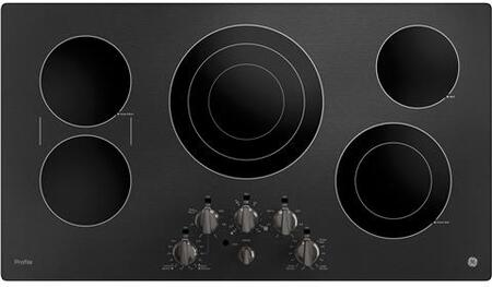 GE Profile  PP7036BMTS Electric Cooktop Black Stainless Steel, PP7036BMTS Cooktop