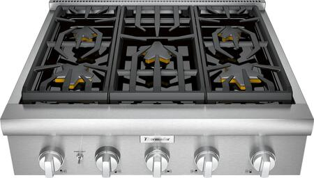 Thermador Professional PCG305W Gas Cooktop Stainless Steel, Main Image