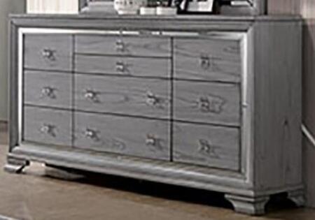 Furniture of America Alanis CM7579D Dresser Gray, CM7579D
