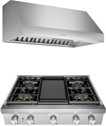 Thermador Professional 1071408 Kitchen Appliance Package Stainless Steel, main image