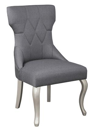 Signature Design by Ashley Coralayne D65001 Dining Room Chair Gray, Main Image