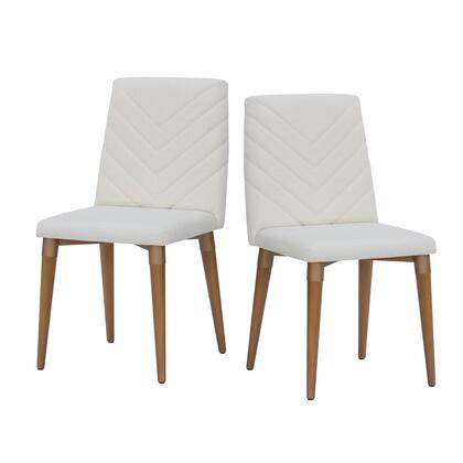 Manhattan Comfort Utopia 2109251 Dining Room Chair Beige, 2 109251 A