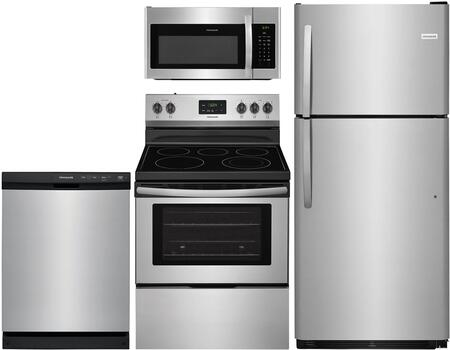Frigidaire  903954 Kitchen Appliance Package Stainless Steel, main image