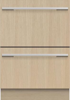 Fisher Paykel 9 Series DD24DI9N Built-In Dishwasher Panel Ready, Front View