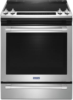 Maytag MES8800FZ Freestanding Electric Range Stainless steel, Main Image