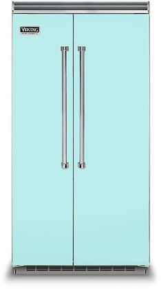 Viking 5 Series VCSB5423BW Side-By-Side Refrigerator Blue, VCSB5423BW Side-by-Side Refrigerator