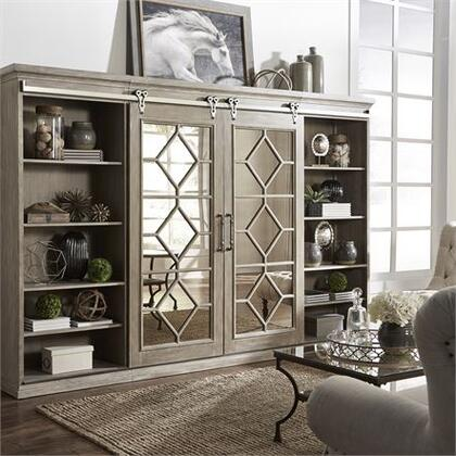 Liberty Furniture Mirrored Reflections 874ENTWECP Entertainment Center Brown, 874 entw ecp Main