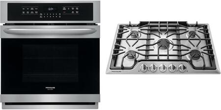 Frigidaire  1033357 Kitchen Appliance Package Stainless Steel, main image