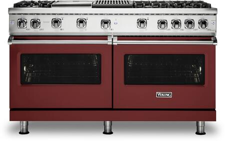 Viking 5 Series VGR5606GQRELP Freestanding Gas Range Red, VGR5606GQRELP Gas Range