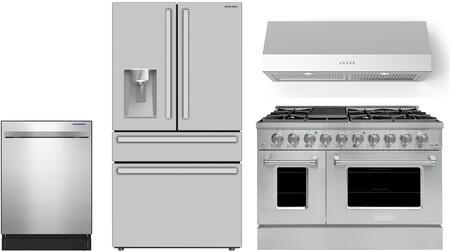 SHARP  1500400 Kitchen Appliance Package Stainless Steel, 1