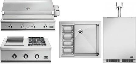 DCS  1140205 Grill Package Stainless Steel, main image