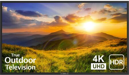 SB-S2-65-4K-BL 65″ Signature 2 Series 4K UHD Outdoor TV with HDR  OptiView Technology and TruVision Anti-Glare Technology in
