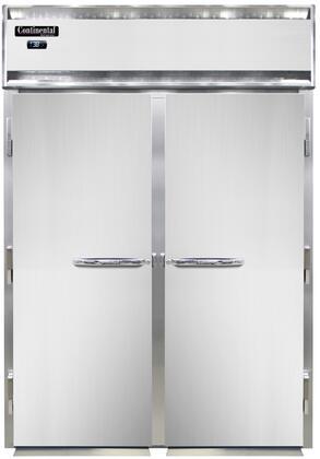 Continental Refrigerator Designer Line D2RINSAE Roll-In Refrigerators Stainless Steel, D2RINSAE Roll-In Refrigerator