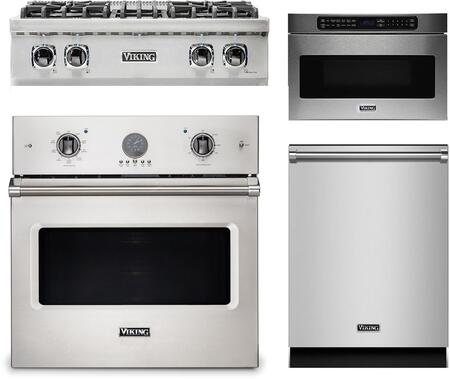 Viking 874164 Kitchen Appliance Package & Bundle Stainless Steel, main image