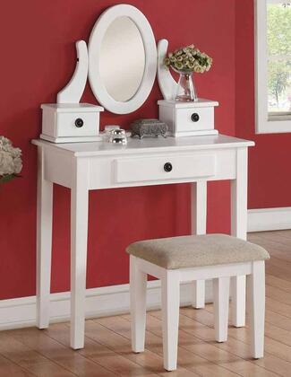 Acme Furniture Jayle 90147 Vanity White, Vanity Set