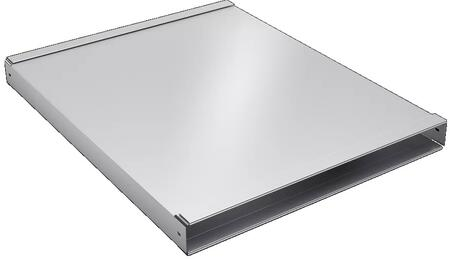 Bosch  HDD2RECTD Duct Adapter Stainless Steel, Main Image