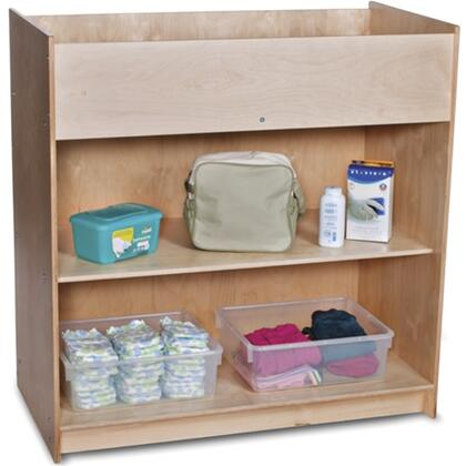 Foundations SafetyCraft 1673047 Changing Table Brown, Main