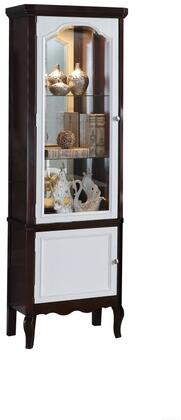 Acme Furniture Mathias 91232 Curio Cabinet Brown, Curio Cabinet