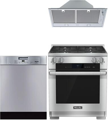 Miele  997525 Kitchen Appliance Package Stainless Steel, main image