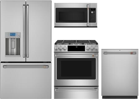 Cafe  1135443 Kitchen Appliance Package Stainless Steel, main image