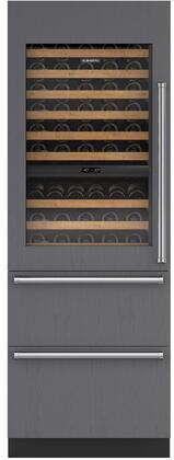Sub-Zero Designer IW30RLH Wine Cooler 76 Bottles and Above Panel Ready, Main Image