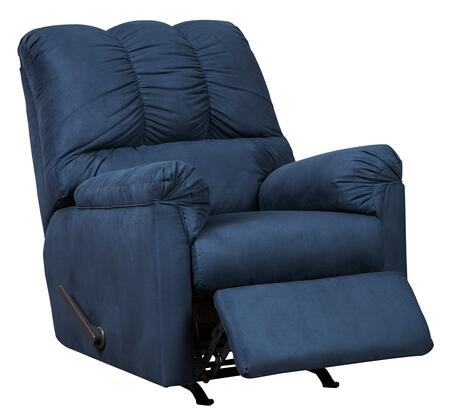 Signature Design by Ashley Darcy 7500725 Recliner Chair Blue, Main Image