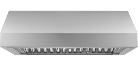 Dacor Heritage HWHP3612S Wall Mount Range Hood Stainless Steel, Front View