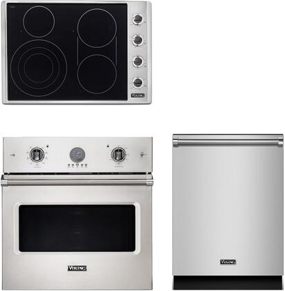 Viking  943485 Kitchen Appliance Package Stainless Steel, main image