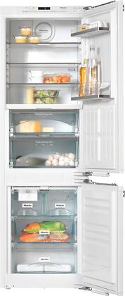 Miele  KFNS37692IDE1 Bottom Freezer Refrigerator Panel Ready, KFNS37692IDE1 PerfectCool Fridge-Freezer