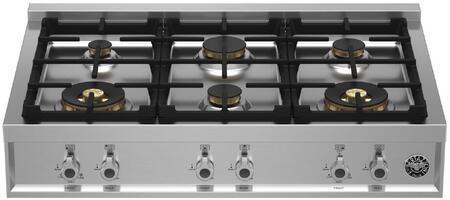 Bertazzoni Professional PROF366RTBXTLP Gas Cooktop Stainless Steel, PROF366RTBXT Gas Rangetop