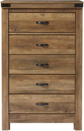 Standard Furniture Warren 52405 Chest of Drawer Brown, Main Image