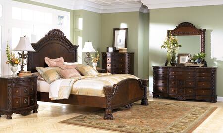 Millennium North Shore B5532541571961313646 Bedroom Set Brown, Main Image