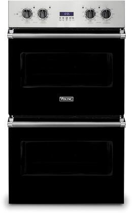 Viking 5 Series VDOE130BK Double Wall Oven Black, 1