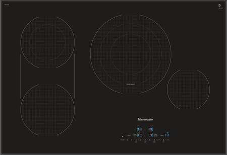Thermador Masterpiece CET305TB Electric Cooktop Black, CET305TB 30-Inch  Electric Cooktop