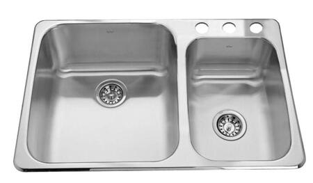 Kindred QCM2233R8N3 Sink Stainless Steel, 1