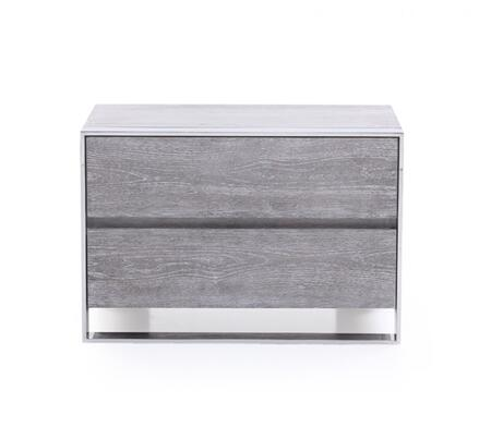 VIG Furniture Modrest Arlene VGVCN006 Nightstand Gray, 1