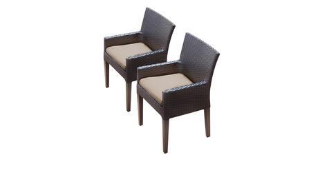 TK Classics BARBADOSTKC097BDCC Patio Chair, BARBADOS TKC097b DC C