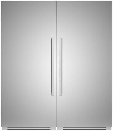 Bertazzoni  1309168 Column Refrigerator & Freezer Set Stainless Steel, 1