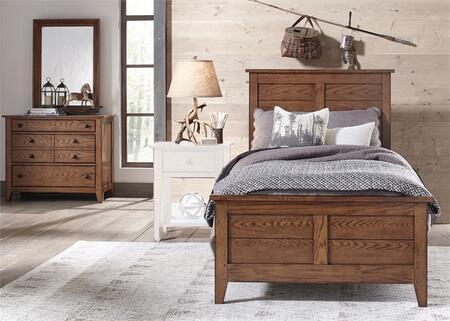 Liberty Furniture Grandpa's Cabin 175YBRTPBDM Bedroom Set Brown, Main Image