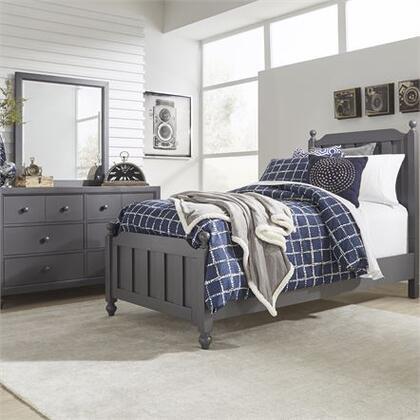Liberty Furniture Cottage View 423YBRTPB3SET Bedroom Set Gray, 423 ybr tpbdm Main