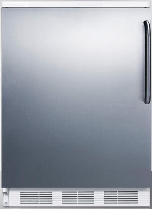 Summit FF6SSTBX Compact Refrigerator Stainless Steel, 1