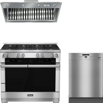 Miele  888323 Kitchen Appliance Package Stainless Steel, 1