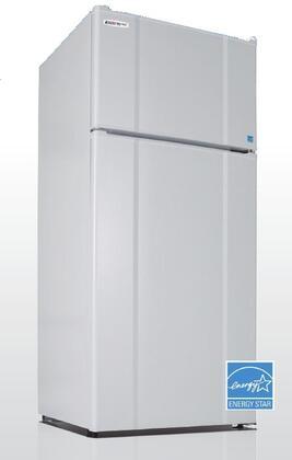 MicroFridge  103LMF4RW Top Freezer Refrigerator White, 10.3RMF4RW Main Image