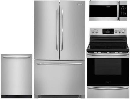 Frigidaire  880639 Kitchen Appliance Package Stainless Steel, main image