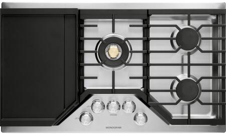 Monogram Zgu36rslss 36 Inch Gas Sealed Burner Cooktop Appliances Connection