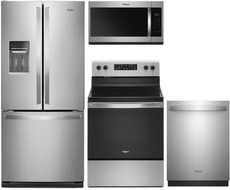 Whirlpool  992058 Kitchen Appliance Package Stainless Steel, Main Image
