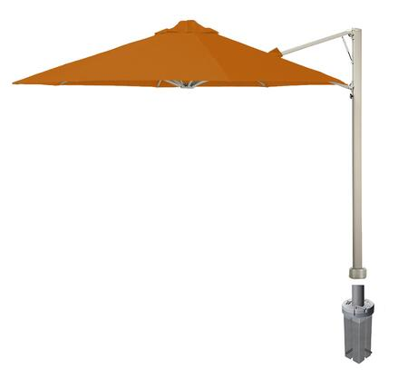 Shadowspec SU7 Series KITP7SQ30GAORNA Outdoor Umbrella Orange, Bitter Orange